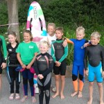 Hayle Wall to Wall Paddle Board Race